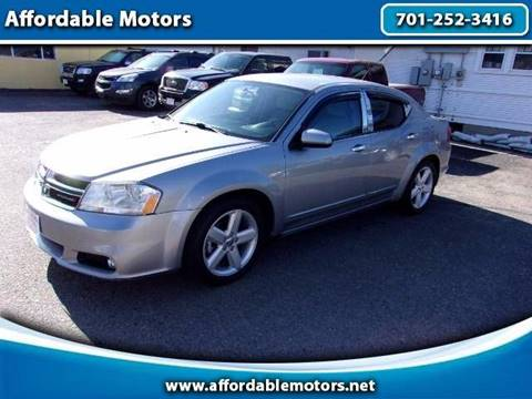2013 Dodge Avenger for sale at Affordable Motors in Jamestown ND
