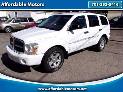 2005 Dodge Durango for sale at Affordable Motors - Sold Inventory in Jamestown ND