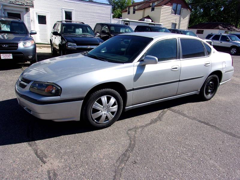 2002 Chevrolet Impala for sale at Affordable Motors in Jamestown ND