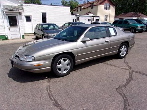 1999 Chevrolet Monte Carlo for sale at Affordable Motors in Jamestown ND