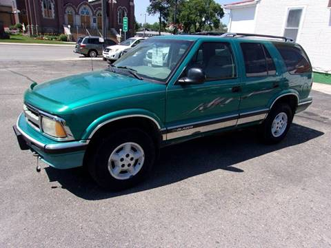 1995 Chevrolet Blazer for sale at Affordable Motors in Jamestown ND