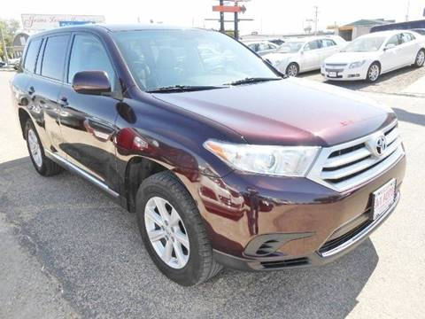 2013 Toyota Highlander for sale at Dales A-1 Auto Inc in Jamestown ND