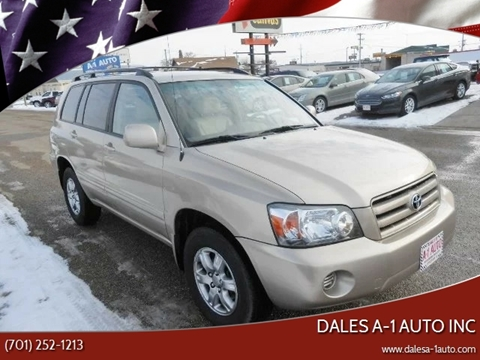 2006 Toyota Highlander for sale at Dales A-1 Auto Inc in Jamestown ND