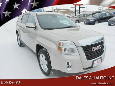2013 GMC Terrain for sale at Dales A-1 Auto Inc in Jamestown ND