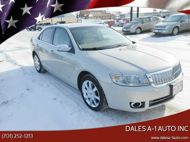 2007 Lincoln MKZ for sale at Dales A-1 Auto Inc in Jamestown ND