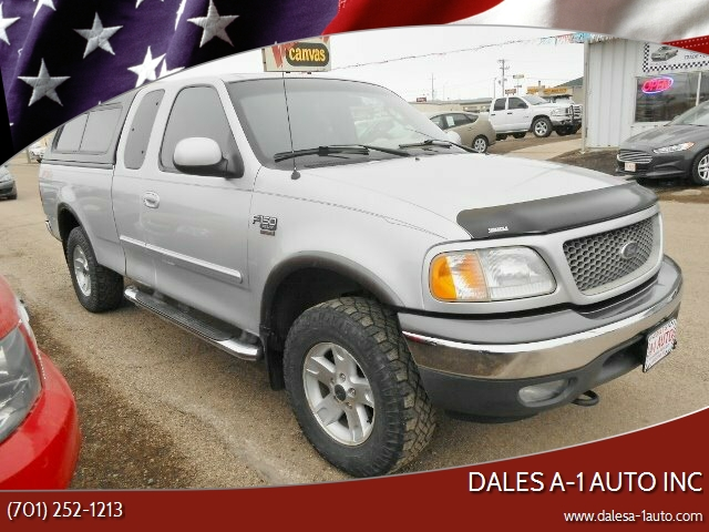 2002 Ford F-150 for sale at Dales A-1 Auto Inc in Jamestown ND