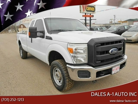 2014 Ford F-250 Super Duty for sale at Dales A-1 Auto Inc in Jamestown ND