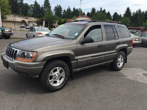 1999 Jeep Grand Cherokee for sale at Federal Way Auto Sales in Federal Way WA