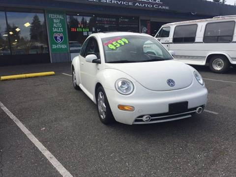 2001 Volkswagen New Beetle for sale in Federal Way, WA