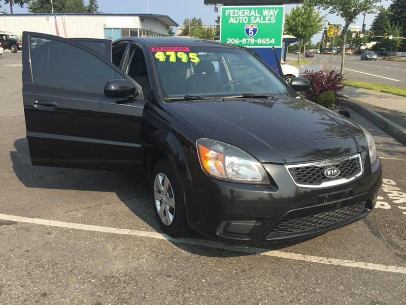 2010 Kia Rio for sale at Federal Way Auto Sales in Federal Way WA
