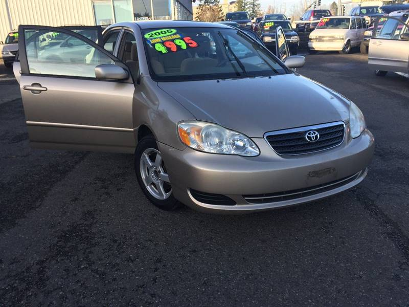 2005 Toyota Corolla for sale at Federal Way Auto Sales in Federal Way WA