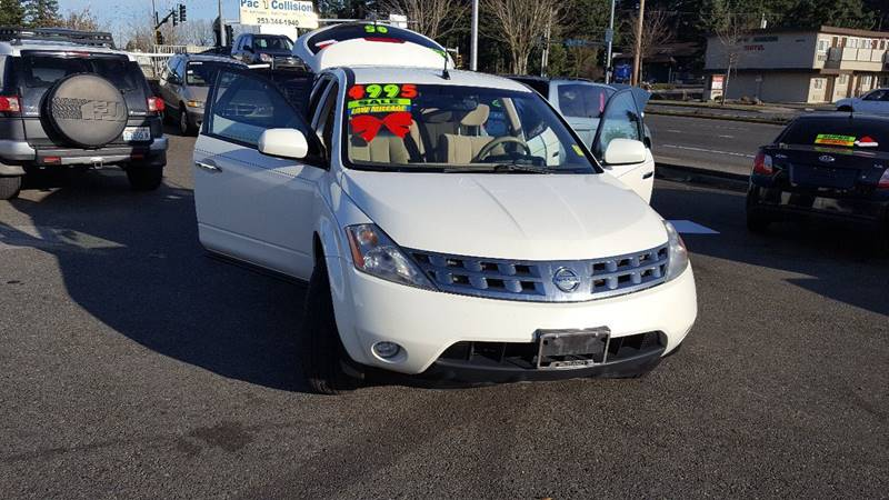 Nissan Murano For Sale >> 2005 Nissan Murano Sl In Federal Way Wa Federal Way Auto Sales