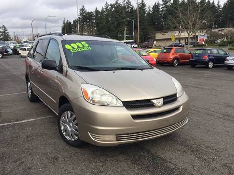 2005 Toyota Sienna for sale at Federal Way Auto Sales in Federal Way WA