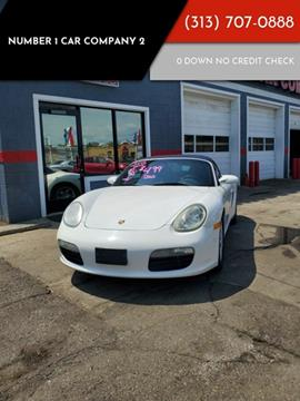 2005 Porsche Boxster for sale in Detroit, MI