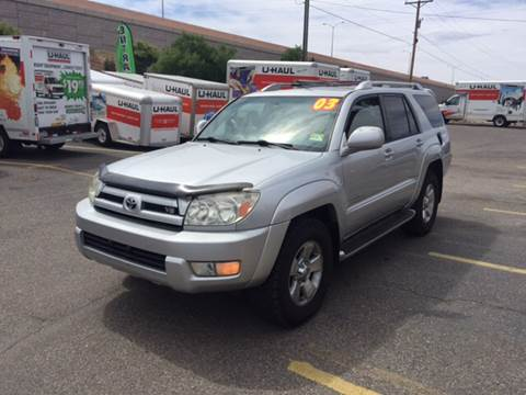 2003 Toyota 4Runner for sale at 505 Auto Sales in Albuquerque NM