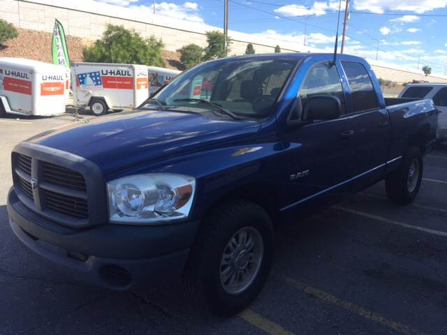 2008 Dodge Ram Pickup 1500 for sale at 505 Auto Sales in Albuquerque NM