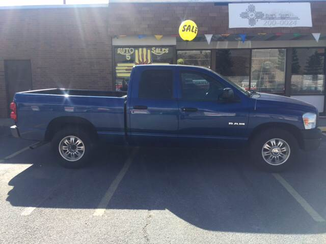 2008 Dodge Ram Pickup 1500 for sale at 505 Auto Sales in Albuquerque NM