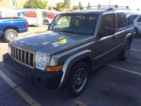 2006 Jeep Commander for sale at 505 Auto Sales in Albuquerque NM