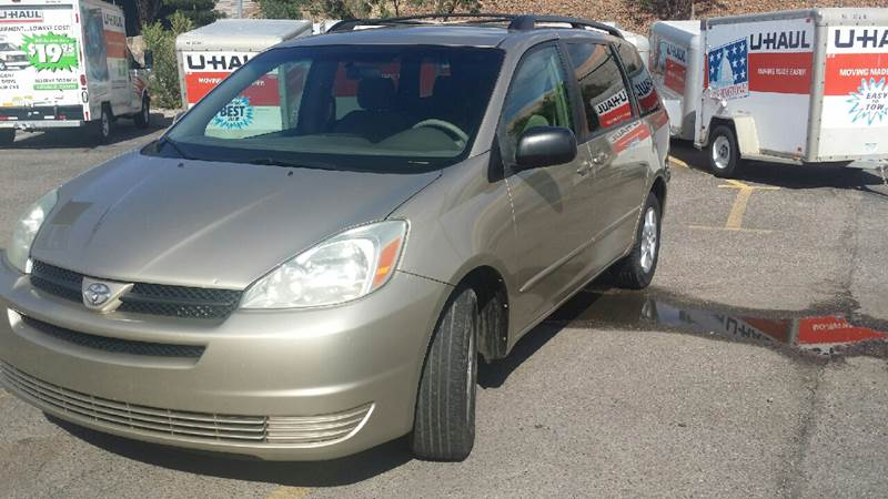 2004 Toyota Sienna for sale at 505 Auto Sales in Albuquerque NM