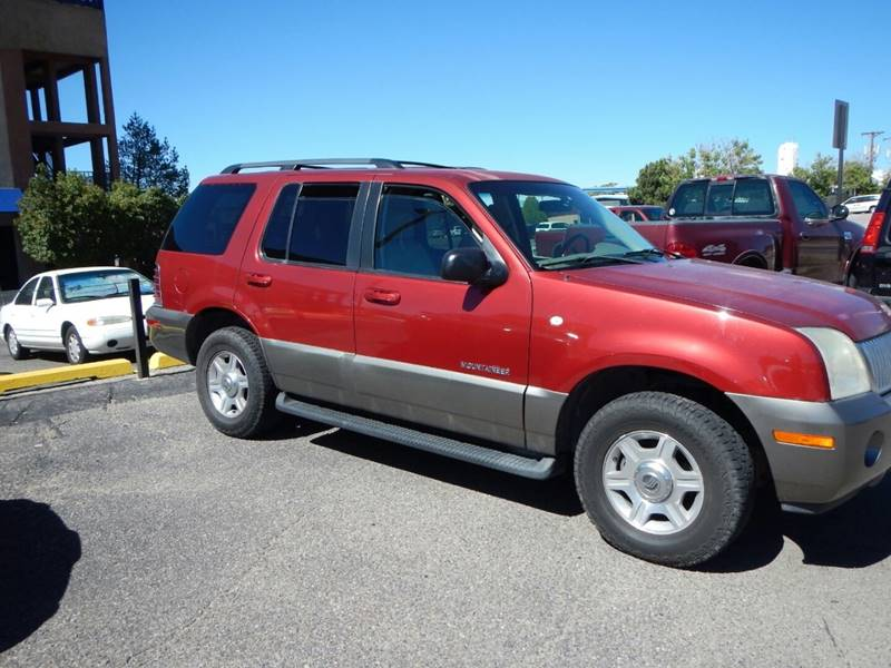 2002 Mercury Mountaineer for sale at 505 Auto Sales in Albuquerque NM