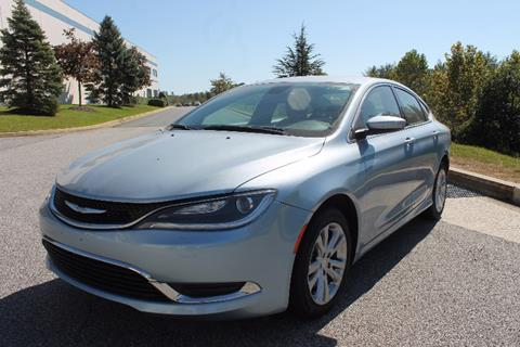 2015 Chrysler 200 for sale in Edgewood, MD