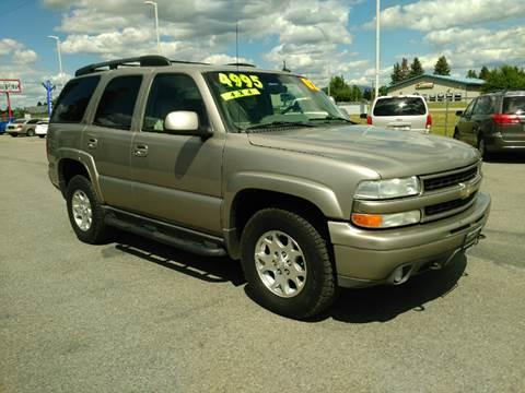 2002 Chevrolet Tahoe for sale in Hayden, ID