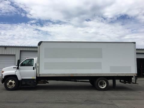2007 GMC C7500 24' box truck for sale in Hayden, ID