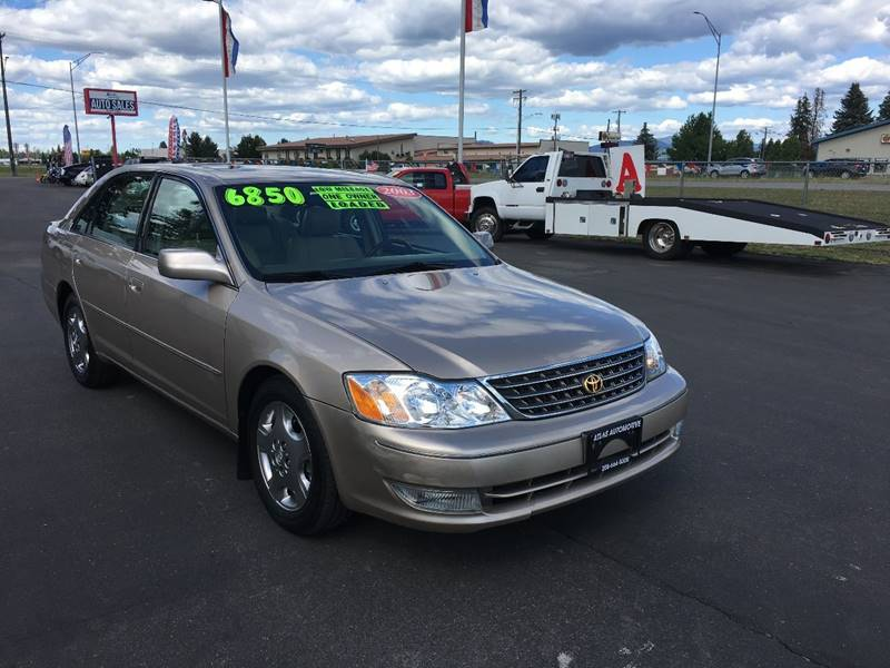 2003 Toyota Avalon For Sale At Atlas Automotive Sales In Hayden ID