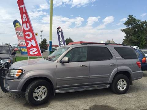 2002 Toyota Sequoia for sale in Ontario, OR