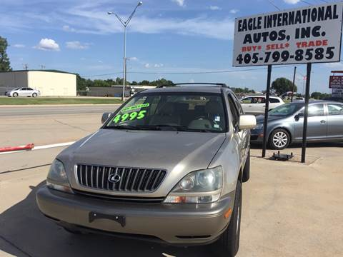 2000 Lexus RX 300 for sale at Eagle International Autos Inc in Moore OK