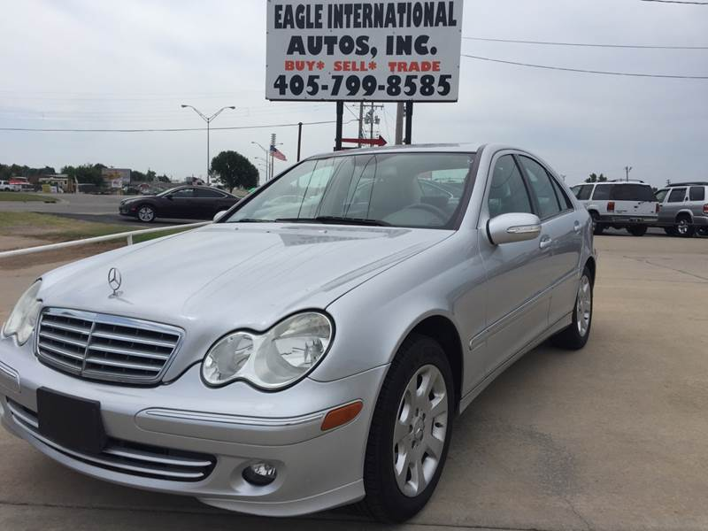 2006 Mercedes-Benz C-Class for sale at Eagle International Autos Inc in Moore OK