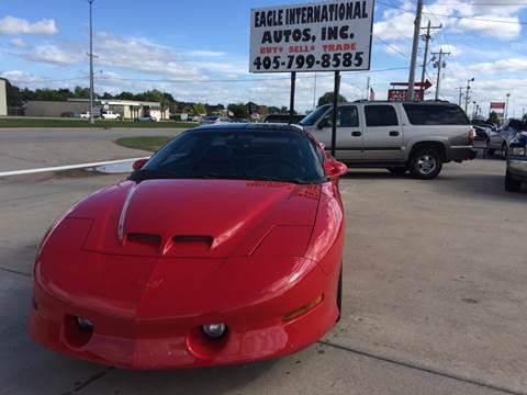 Pontiac Firebird Formula In Moore OK Eagle International - International autos