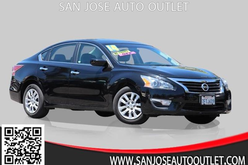 2014 Nissan Altima for sale at San Jose Auto Outlet in San Jose CA