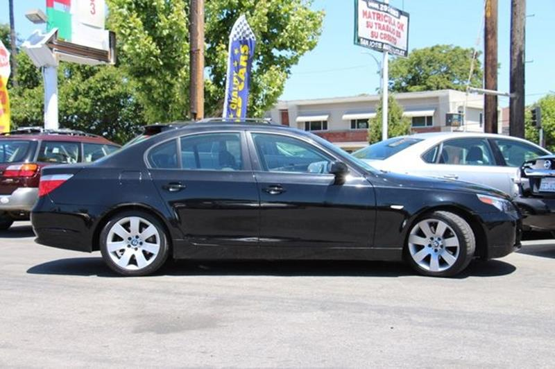 2007 BMW 5 Series for sale at San Jose Auto Outlet in San Jose CA