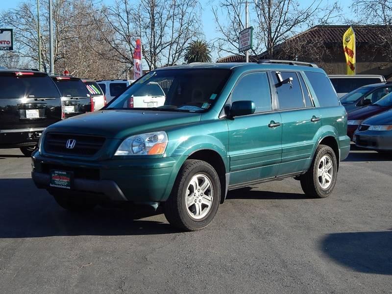 2003 Honda Pilot For Sale At San Jose Auto Outlet In San Jose CA