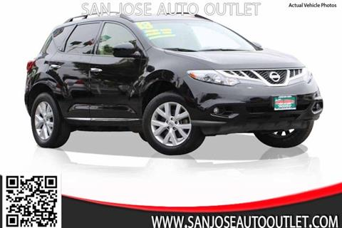2013 Nissan Murano for sale at San Jose Auto Outlet in San Jose CA