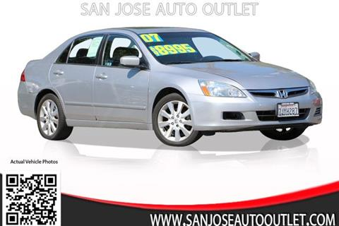 2007 Honda Accord for sale at San Jose Auto Outlet in San Jose CA