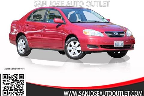 2007 Toyota Corolla for sale at San Jose Auto Outlet in San Jose CA