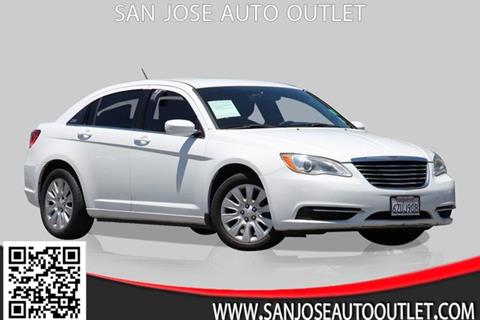 2013 Chrysler 200 for sale at San Jose Auto Outlet in San Jose CA