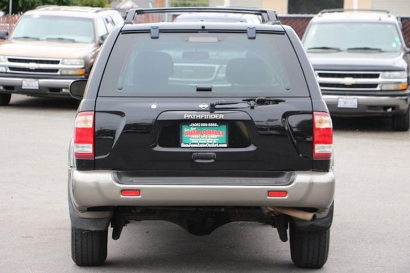1999 Nissan Pathfinder for sale at San Jose Auto Outlet in San Jose CA