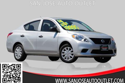 2014 Nissan Versa for sale at San Jose Auto Outlet in San Jose CA