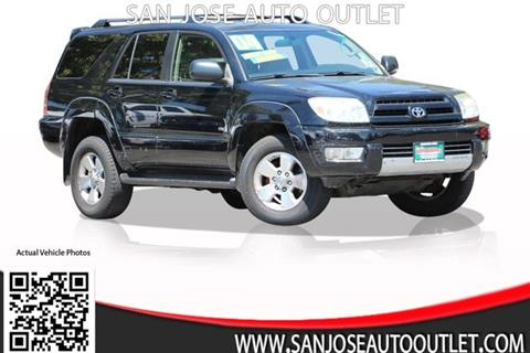2004 Toyota 4Runner for sale at San Jose Auto Outlet in San Jose CA