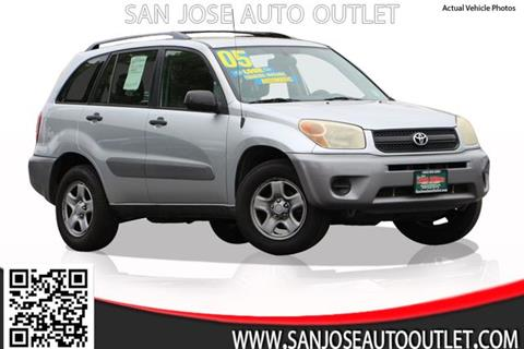 2005 Toyota RAV4 for sale at San Jose Auto Outlet in San Jose CA