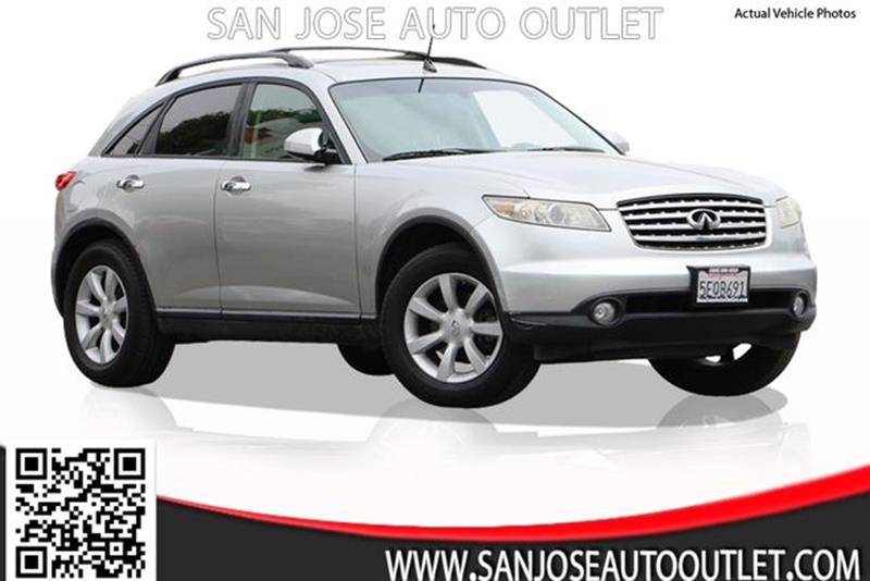 2003 Infiniti FX35 for sale at San Jose Auto Outlet in San Jose CA