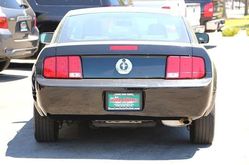 2005 Ford Mustang for sale at San Jose Auto Outlet in San Jose CA