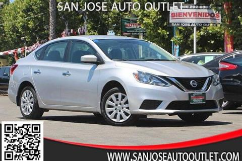 2016 Nissan Sentra for sale at San Jose Auto Outlet in San Jose CA