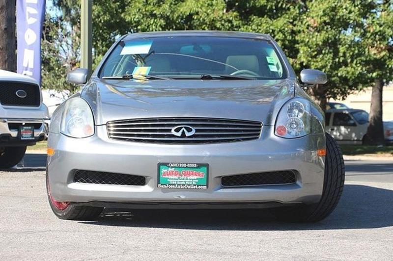 2004 Infiniti G35 for sale at San Jose Auto Outlet in San Jose CA