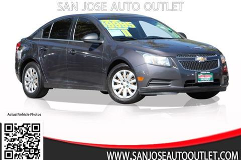 2011 Chevrolet Cruze for sale at San Jose Auto Outlet in San Jose CA