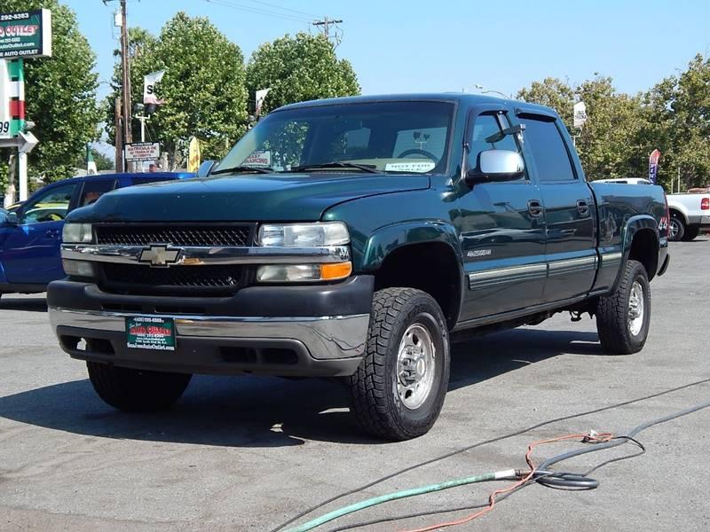 2002 Chevrolet Silverado 2500HD For Sale At San Jose Auto Outlet In San  Jose CA