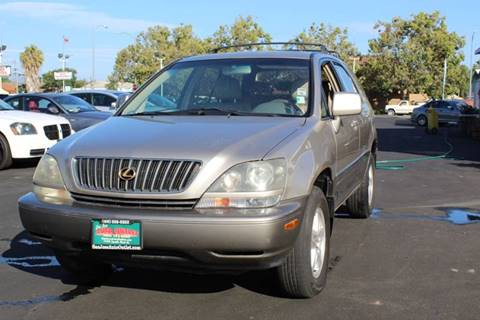 1999 Lexus RX 300 for sale at San Jose Auto Outlet in San Jose CA